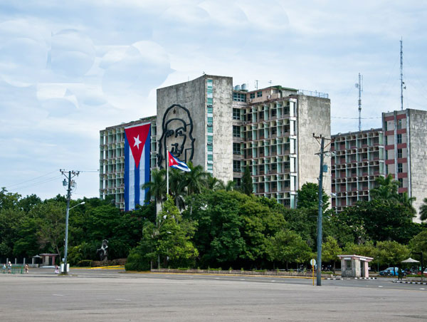 Площадь Революции, Гавана, Куба
