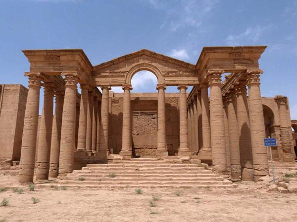 Руины Хатра