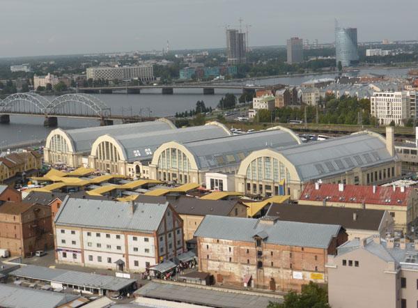 Центральный рынок Риги