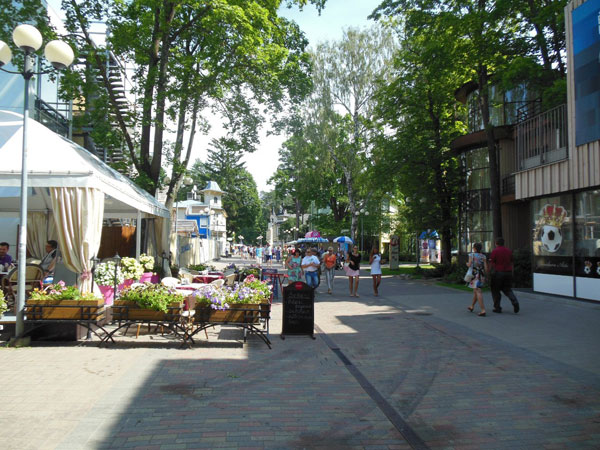 Улица Йомас