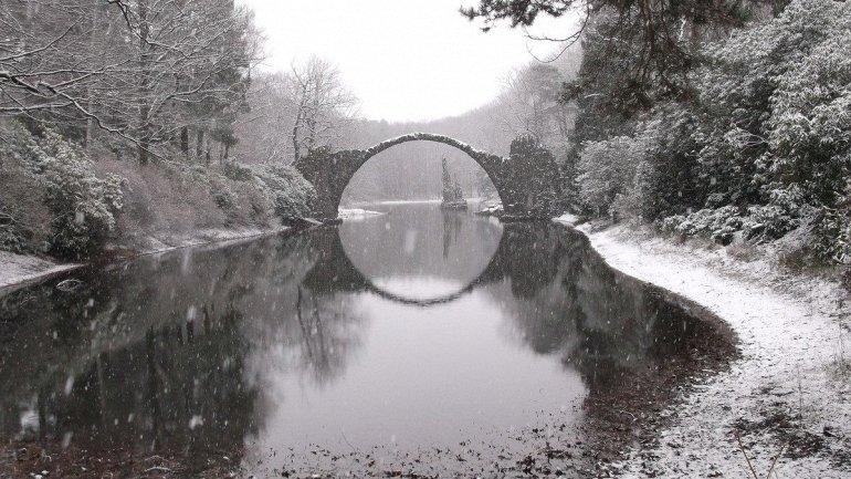 мост в Германии