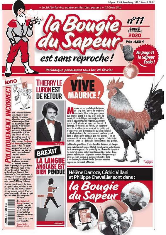 Газета La Bougie du Sapeur
