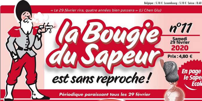 Французская газета La Bougie du Sapeur