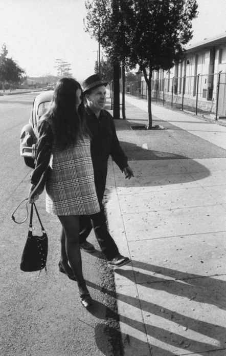 Ближе к концу беременности отец Джуди Фэй, работник аэрокосмической отрасли, каждый день водил ее в школу и обратно.