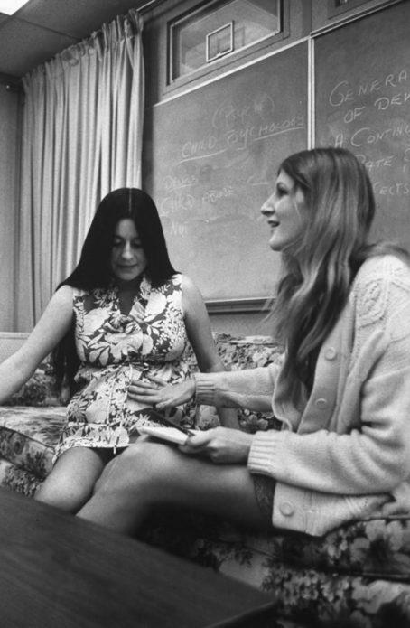 Беременные старшеклассники, Азуса, Калифорния, 1971.