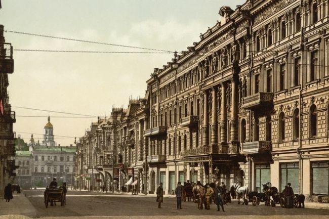 Киев 100 лет назад и сейчас (Украина)