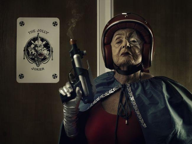 Мамика: супер-бабушка от Саши Голдбергер (Sacha Goldberger)
